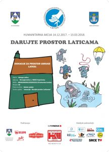 "Humanitarna akcija ""Darujte prostor Laticama"""