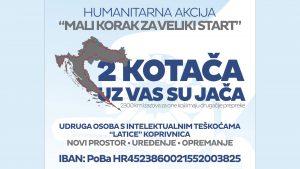 """Predstavljena humanitarna akcija """"Mali korak za veliki start"""""""