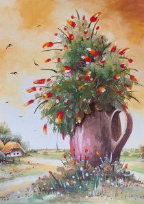Cvijeće u ćupu