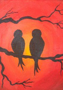 Ptičice na grani
