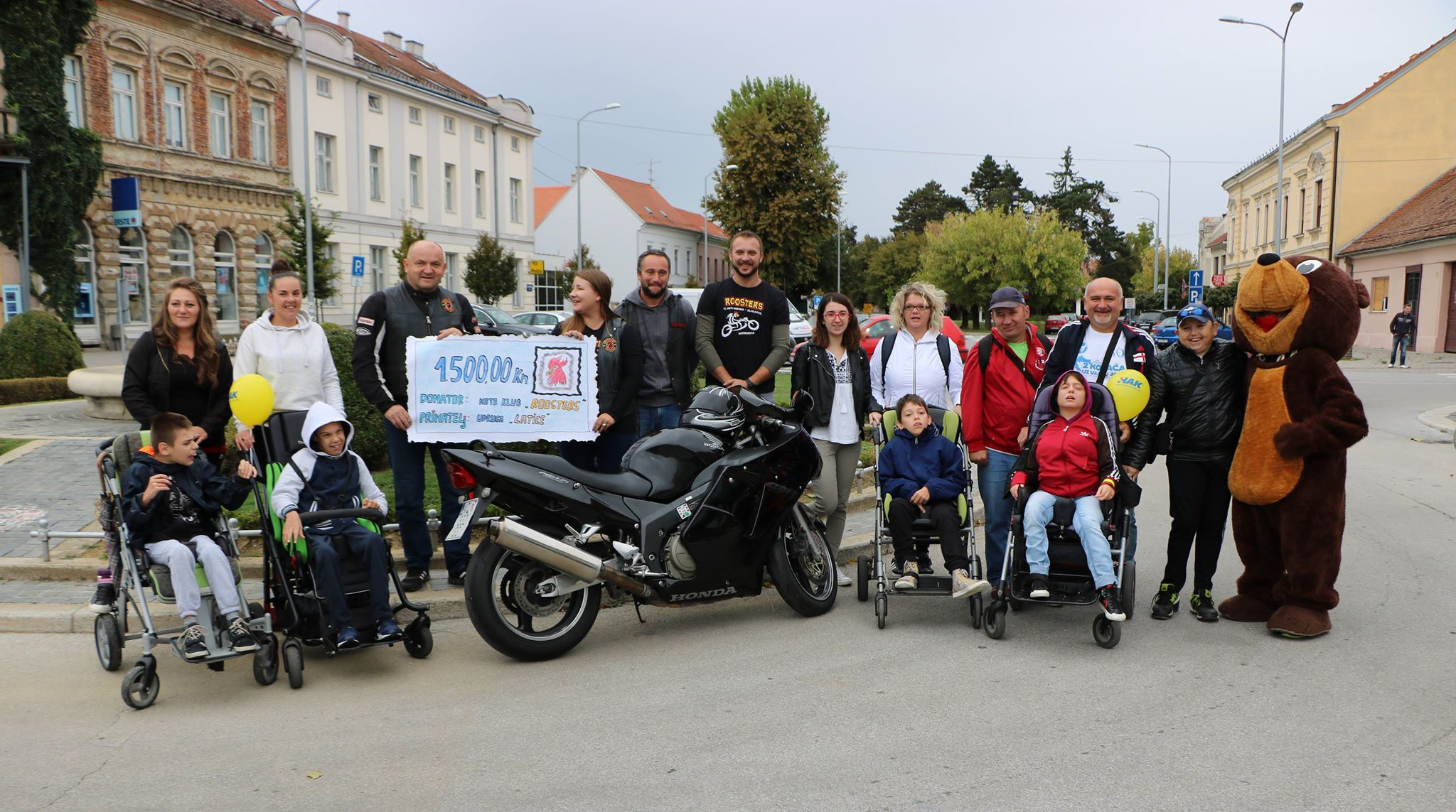 MK Roosters Koprivnica donirali 1500,00 kn Laticama