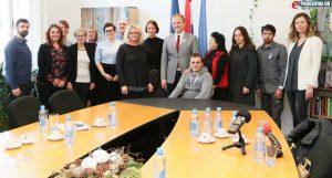 Gradonačelnik Jakšić ugostio predstavnike Udruga