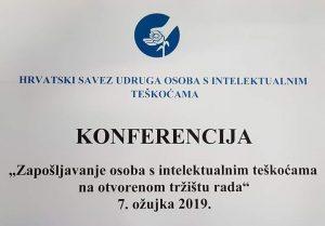 Konferencija o zapošljavanju osoba s intelektualnim teškoćama
