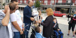 Latice i gradonačelnik Knina Marko Jelić dočekali Maria