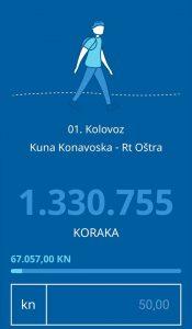 1.330.755 koraka!