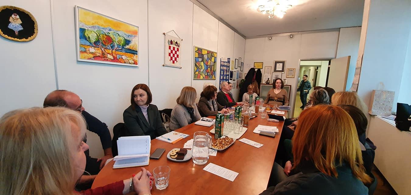Radni sastanak u uredu Javne pravobraniteljice za osobe s invaliditetom Anke Slošnjak