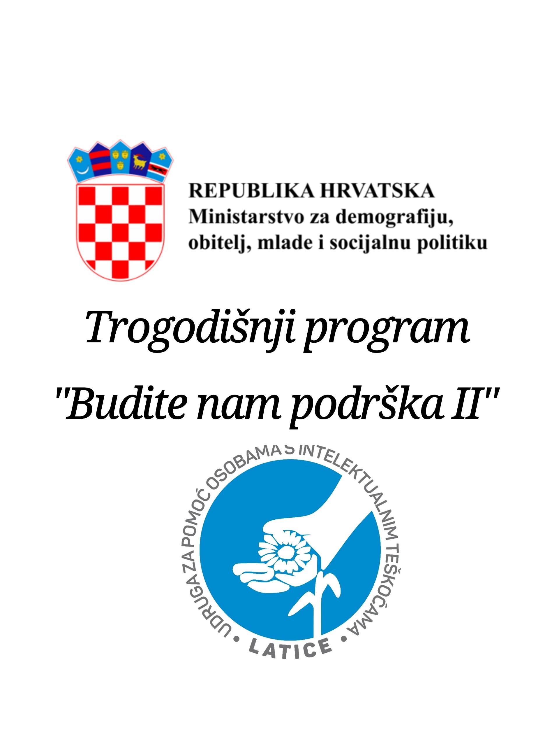 """PROGRAM """"BUDITE NAM PODRŠKA II"""""""