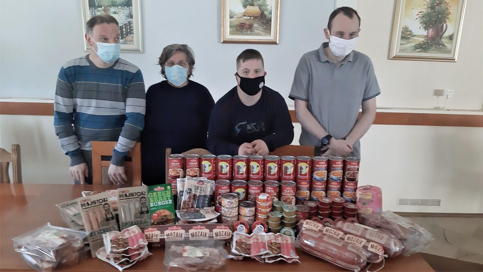 """Donacija Podravkine tvornice mesnih proizvoda """"Danica"""""""