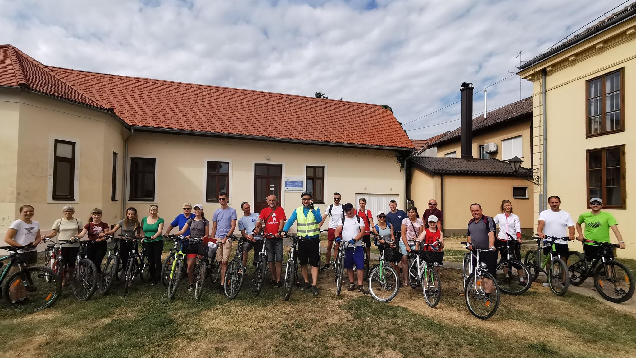 """""""Europska Amazona"""" – sudjelovanje na biciklijadi"""